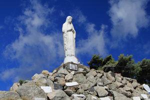 Statue Sainte marie aiguille de bavella