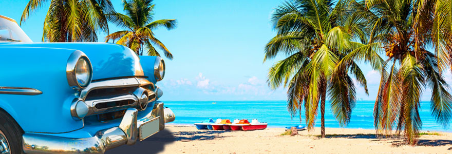 Evasion sur une plage cubaine